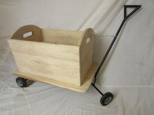 Coche madera carreta r stico la cobacha for Carrito bar de madera