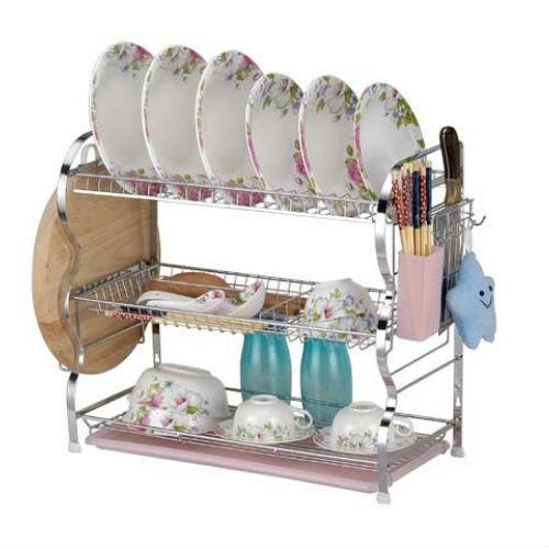 Platero escurridor soporte de platos vajilla cocina for Soporte platos cocina