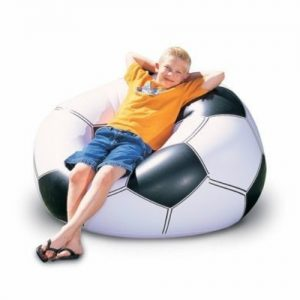 sillon puff inflable