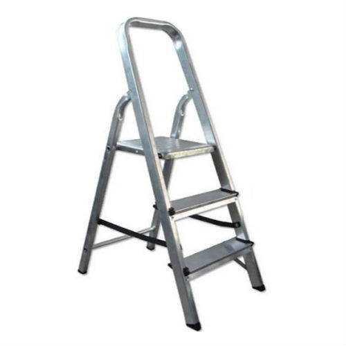 Escalera de aluminio 2 gradas la cobacha for Escalera aluminio pequena